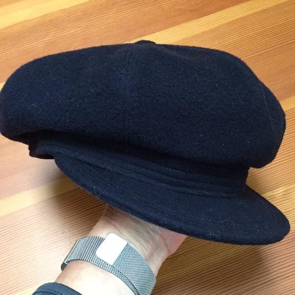 4bcebc27bbe00 Vintage wool captain s hat. M 5b15b604aa87703f4b9e4a45